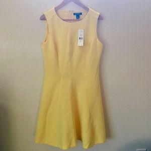 NWT/Ralph Lauren Yellow Cocktail Dress